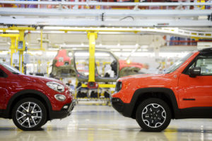 fiat 500 X e Jeep Renegade