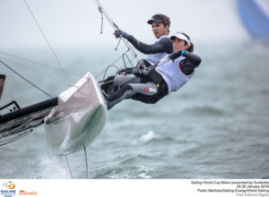 Pedro Martinez/Sailing Energy/World Sailing