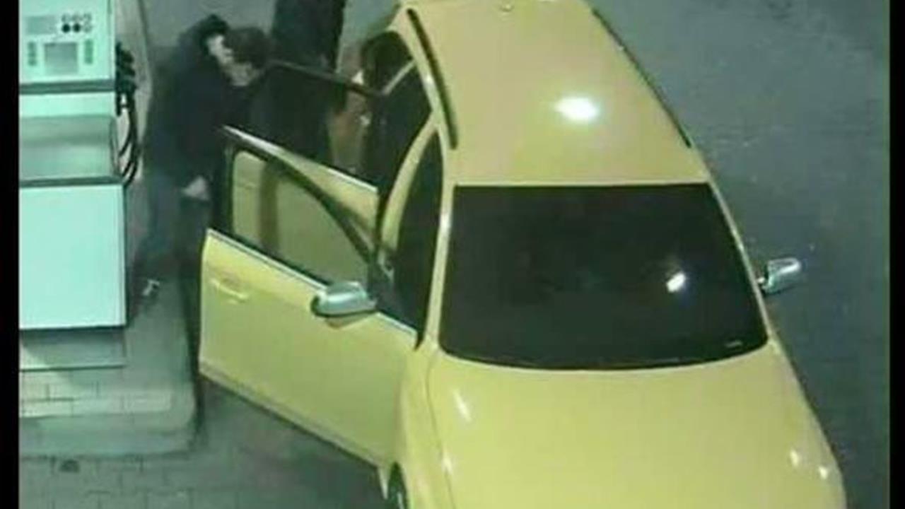 I malviventi dell'Audi gialla forse ora a bordo di una Bmw nera
