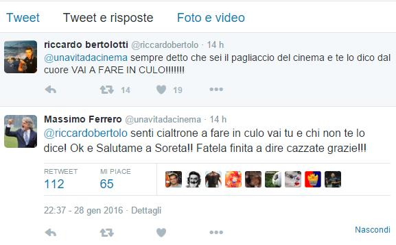 Sampdoria - Sfogo di Ferrero su Twitter