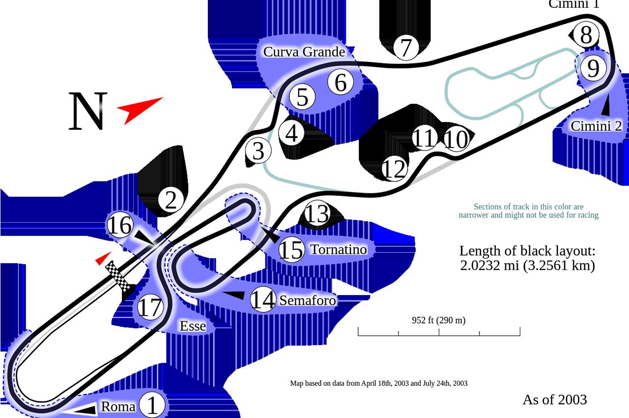 Circuito Vallelunga : L autodromo di vallelunga premiato dal coni