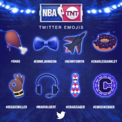 NBA Unveils Twitter Emojis as Part of Kia NBA All-Star MVP Voting