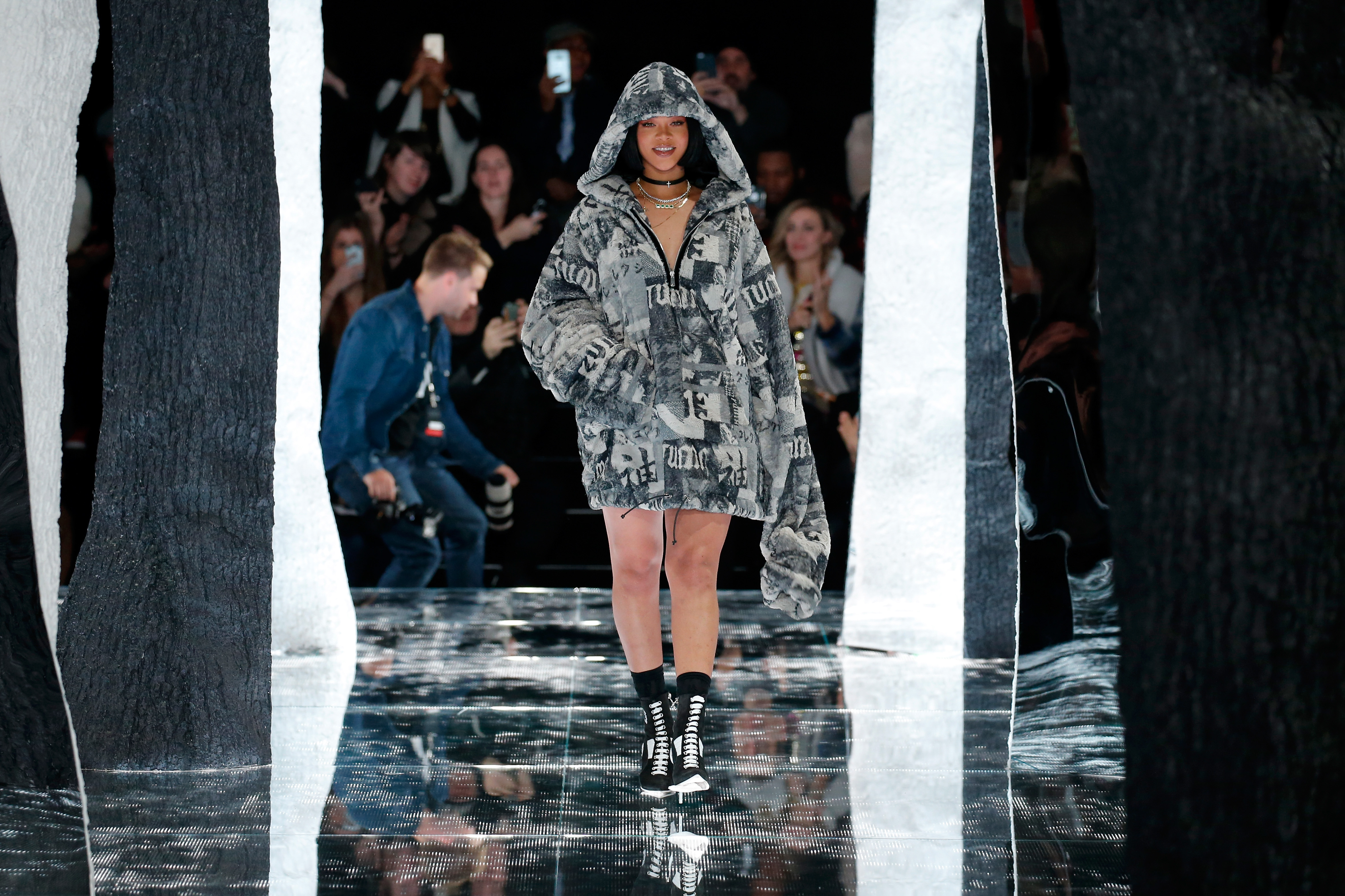FENTY PUMA by Rihanna AW16 Collection – Runway – Fall 2016 New York Fashion Week