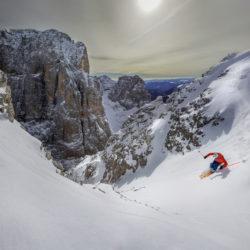King of Dolomites 2016 Stefan Kothner, rider Raphael Öttl