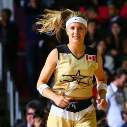 eugenie bouchard all star game nba