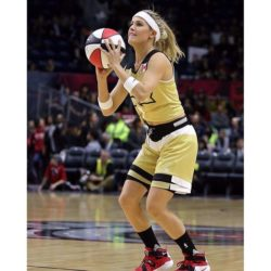 eugenie bouchard all star game nba2