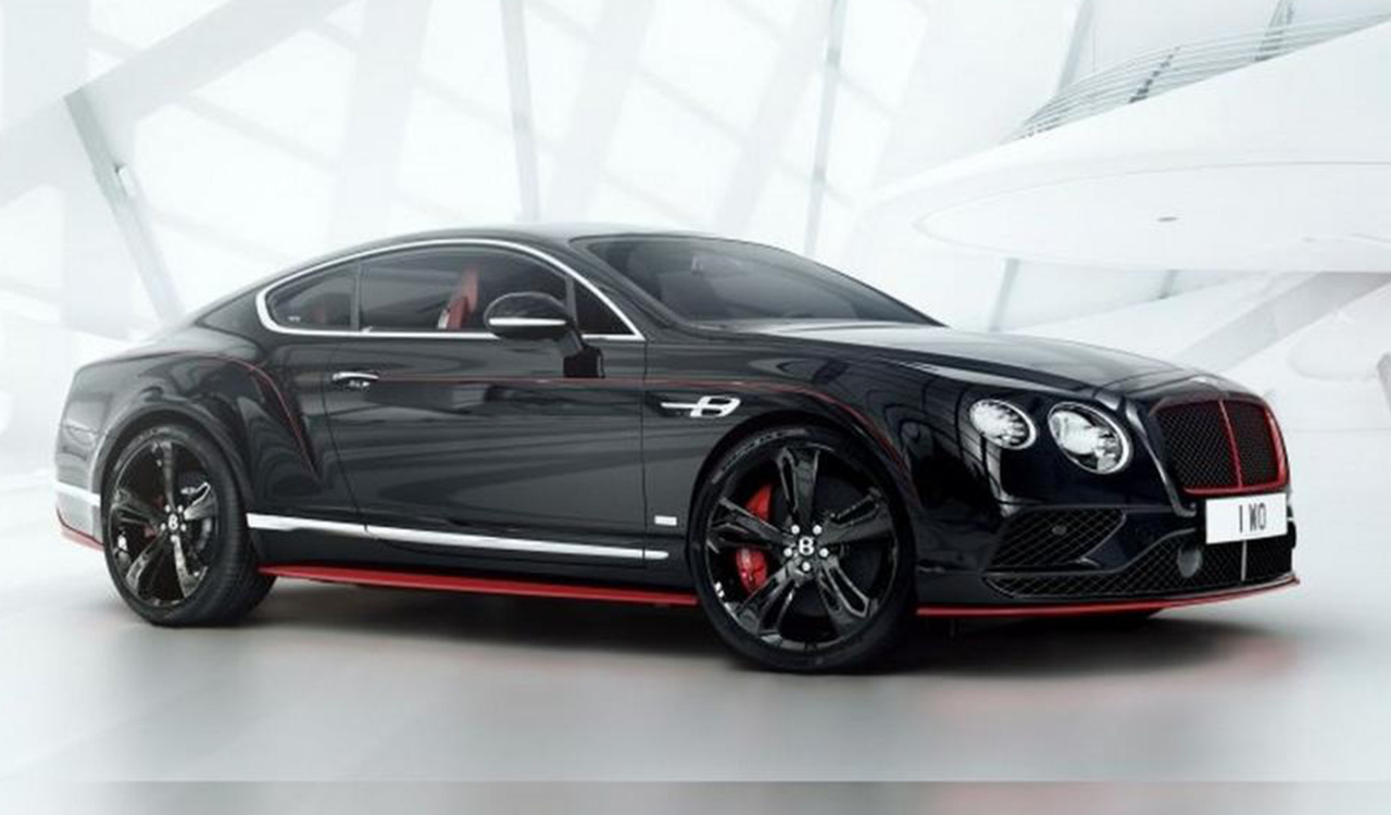 bentley continental gt black speed svelata al gp d australia foto. Black Bedroom Furniture Sets. Home Design Ideas
