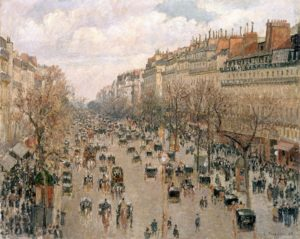 Boulevard Montmartre a Parigi