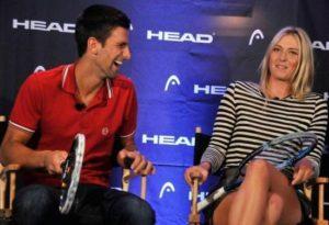 Djokovic Sharapova 2
