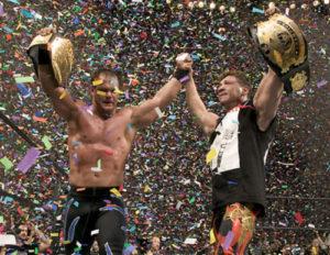 Eddie Guerrero e Chris Benoit