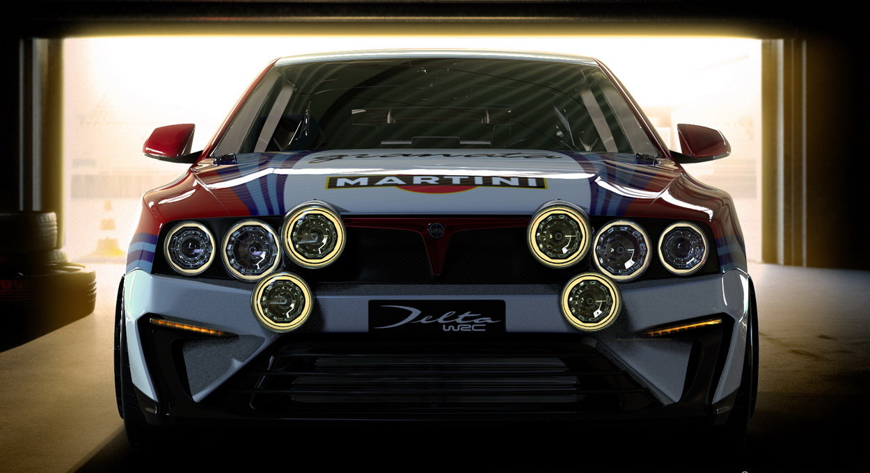 24 best lancia delta hf integrale concept images on pinterest