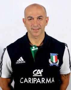 Atleti e staff nella Nazionale italiana
