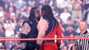 Undertaker vs kane face to face