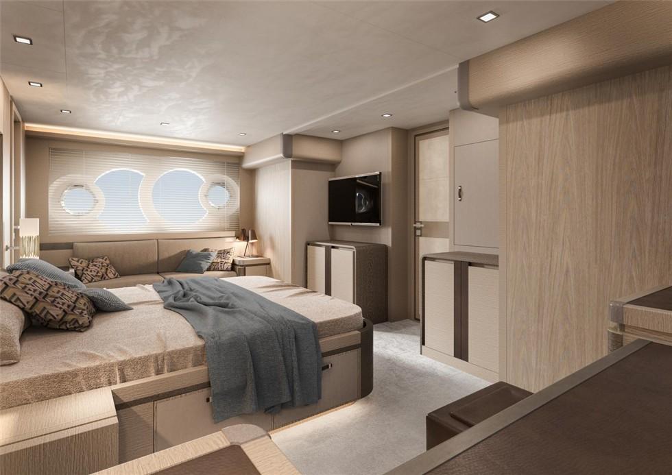 Yachts di lusso mcy presenta il nuovo 24 metri foto for Armani arredo casa