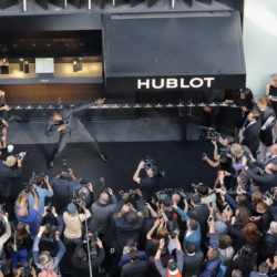 """Hublot Celebrates Grand Opening Of Fifth Avenue Boutique In NYC"""