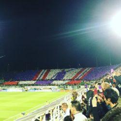 Coreografia Fiorentina Juventus
