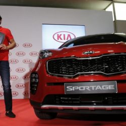Rafa Nadal all'evento Kia Sportage a Madrid