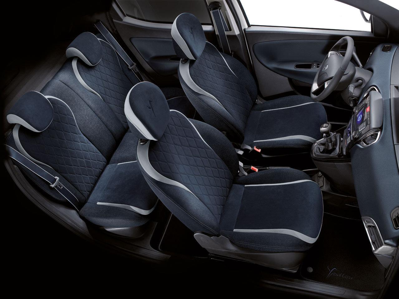 Lancia ypsilon mya la versione speciale che piace a lei for Interno ypsilon