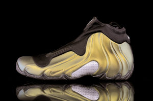 Nike Air Flightposite, Metallic Gold