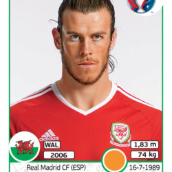Panini Uefa EURO2016 Bale Galles