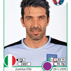 Panini Uefa EURO2016 Buffon Italia