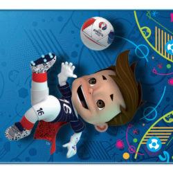 Panini Uefa EURO2016 Figurina Mascotte Victor