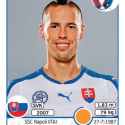 Panini Uefa EURO2016 Hamsik Slovacchia
