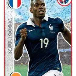 Panini Uefa EURO2016 Pogba TopPlayer Francia