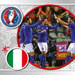 Panini Uefa EURO2016 team foil13