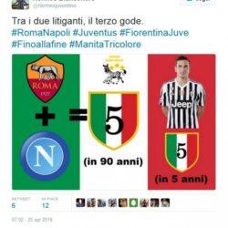 Sfottò Juve 5 scudetto 2016 (1)