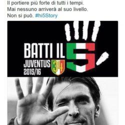 Sfottò Juve 5 scudetto 2016 (15)