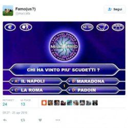 Sfottò Juve 5 scudetto 2016 (2)