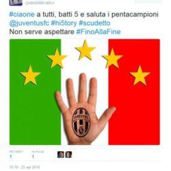 Sfottò Juve 5 scudetto 2016 (4)