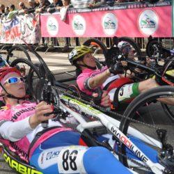 giro d'italia handbike fasi partenza donne in rosa