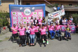 giro d'italia handbike le maglie rosa