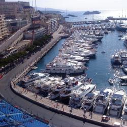 Veduta dello scorcio del porto. Anche dal Porto è possibile godere dell'emozioni della gara
