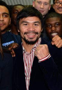 "File photo dated 23-01-2015 of Manny Pacquiao. PRESS ASSOCIATION Photo. Issue date: Tuesday February 16, 2016. Manny Pacquiao has sparked controversy by calling homosexuals ""worse than animals"" in a television interview. See PA story BOXING Pacquiao. Photo credit should read John Stillwell/PA Wire"
