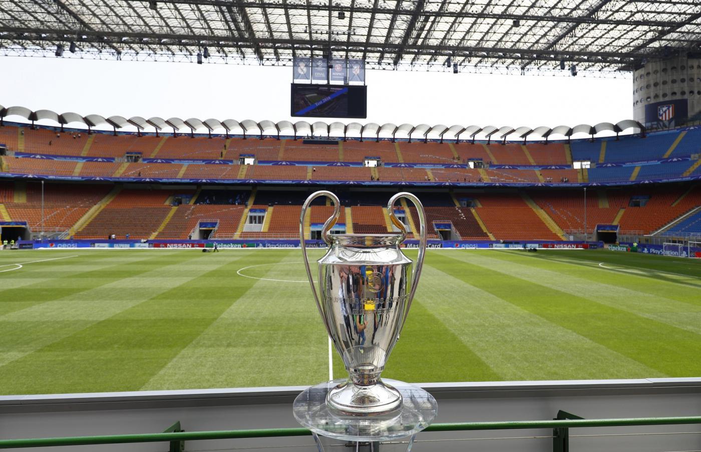 Milano, impazza la febbre per la finale di Champions