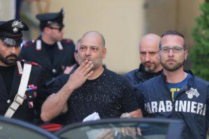 LaPresse - Marco Cantile Cronaca Uscita arresti carabinieri operazione contro clan camorra Vanella Grassi. Truccavano partite calcio serie B Nella foto: Frasca