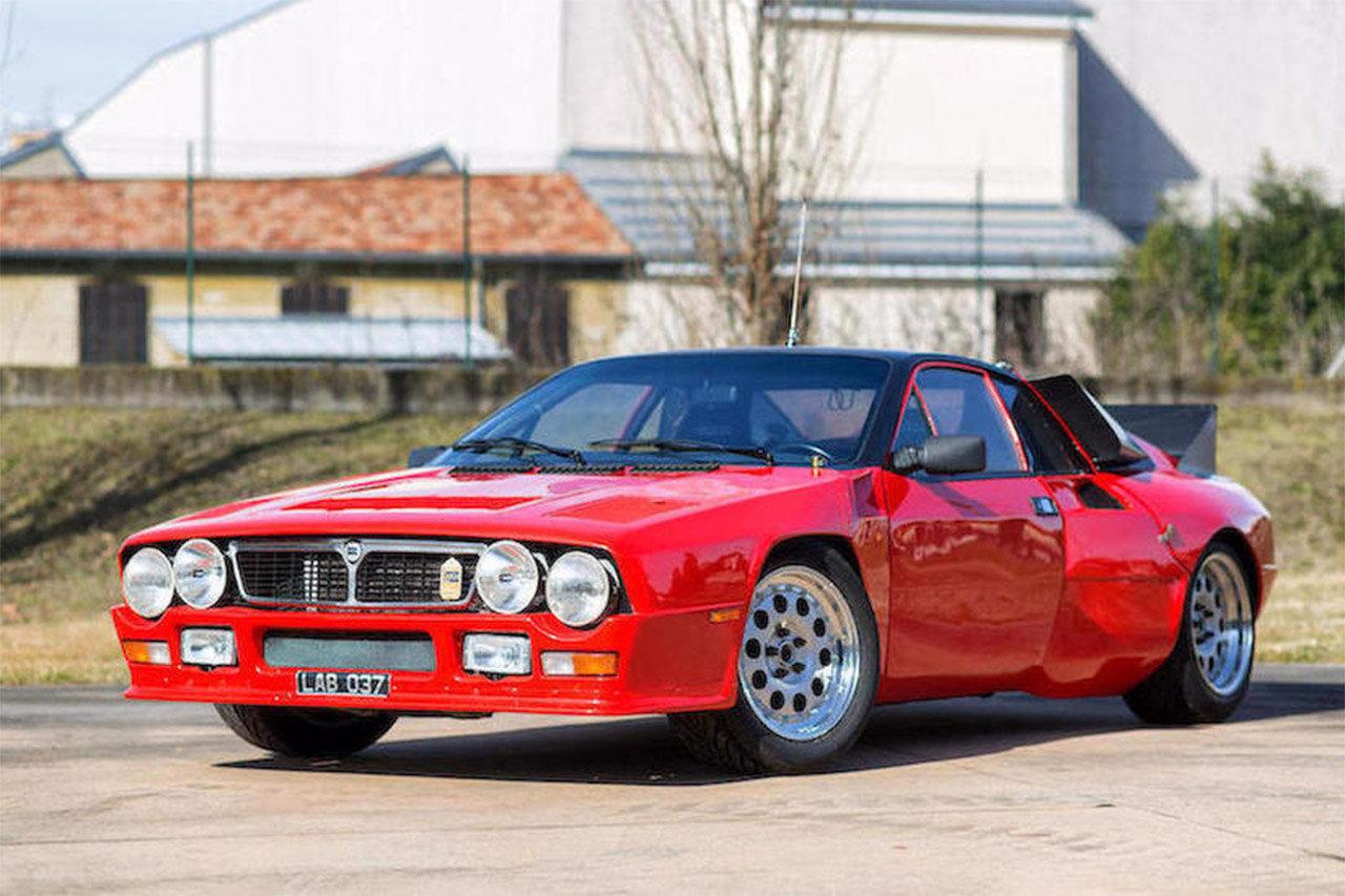 Lancia Rally 037 All Asta Un Pezzo Di Storia Del