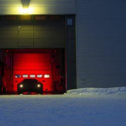 Pagani Huayra BC test sul ghiaccio (2)