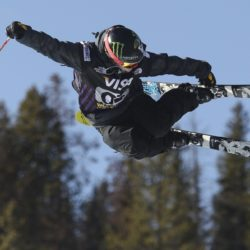 Sarah Burke/ Photo by Mike Ridewood/Canadian Freestyle Ski Association