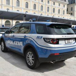 discovery sport polizia