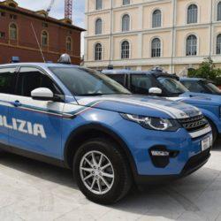 range rover discovery sport polizia