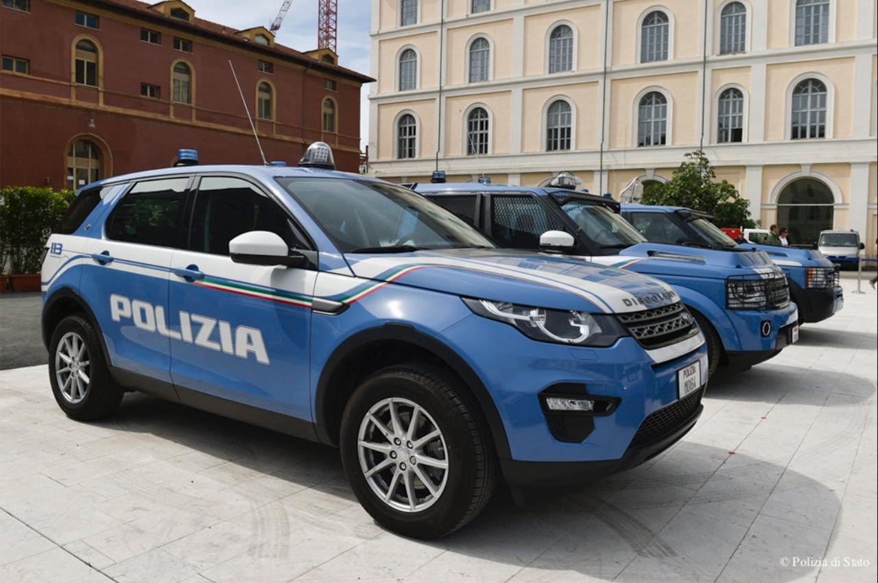 Polizia di Stato, Jeep Renegade e Discovery Sport mettono ...