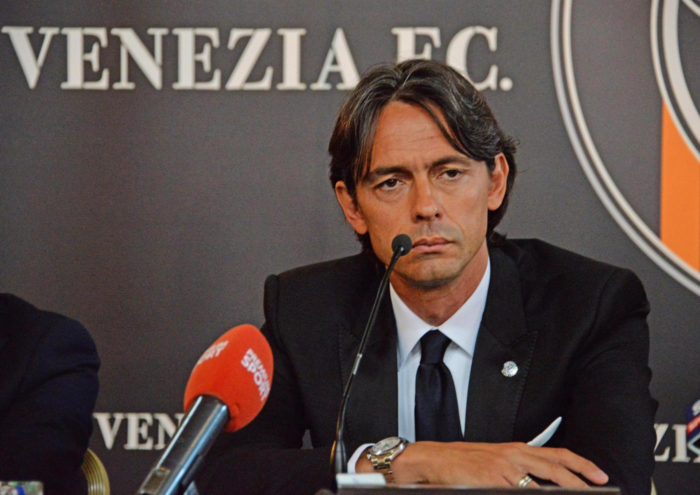 Filippo Inzaghi nuovo allenatore del Calcio Venezia