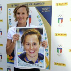 CONI, Malagò e Pellegrini con l'album Panini dedicato alle Olimpiadi