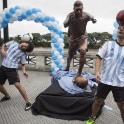 Argentina, una statua per Messi a Buenos Aires