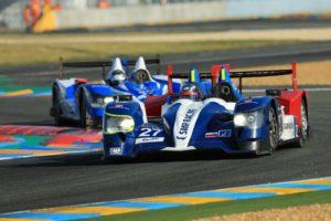 Sessione di prove alla 24 ore di Le Mans