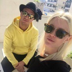 Daniela Christiansson e Maxi lopez